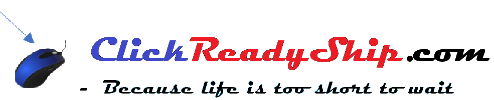 Click Ready Ship, logo