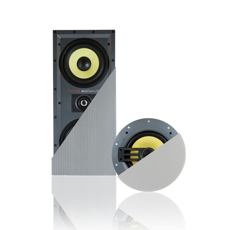 high performance in wall lcr speakers